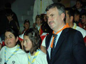 Konya izcileri Mevlana Kültür Merkezinde buluştu