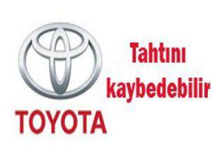 Toyotanın tahtı sallantıda