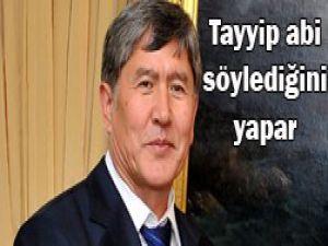 Kırgız Başbakanın çılgın proje yorumu