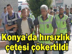Konyada trafik kazası;5 yaralı