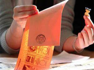 Oy pusulaları basılmaya başlandı
