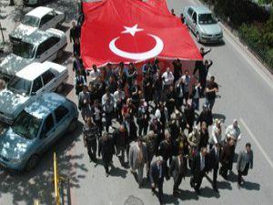 PKK Konyada lanetlendi
