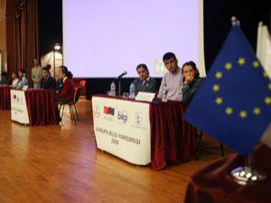 Öğrenciler Avrupa için yarıştı