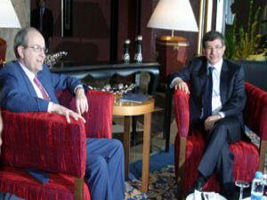 Davutoğlu BM Irak Temsilcisi ile görüştü