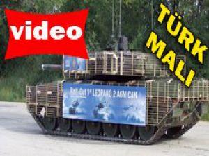 ASELSAN yerli tank Leopardı yeniledi