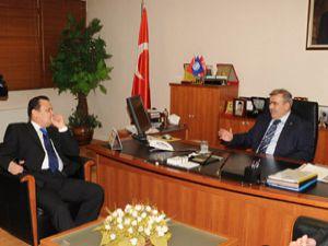 Kazakistan Büyükelçisi KTOda