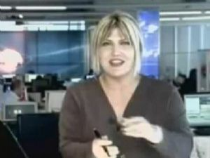 Televizyon tarihinde bir ilk (video)