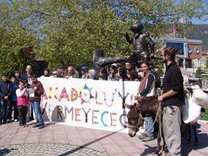 Büyük Anadolu Yürüyüşü ekibi Akşehirde