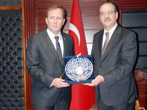 Karacan, KSOyu ziyaret etti