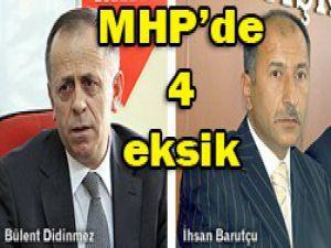 MHPden iki istifa daha