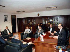 AK Parti Milletvekili Adayları KSOyu ziyaret etti