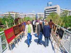 KOMEKten Ebru ve Filografi Sergisi