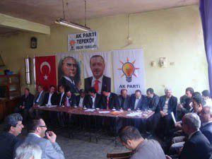 """""""Ak Parti döneminde tüm dünyada söz sahibi olduk"""""""