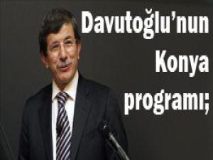 Davutoğlu Konyaya geliyor