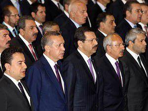 Erdoğan ve Kılıçdaroğlu yan yana