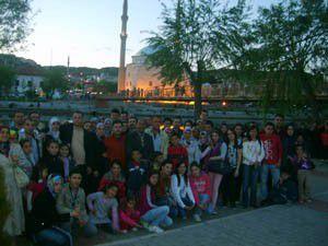 Nakiboğlu çalışanları Kapadokyada stres attı