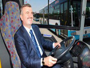 Konyanın yeni otobüsleri hizmete sunuldu