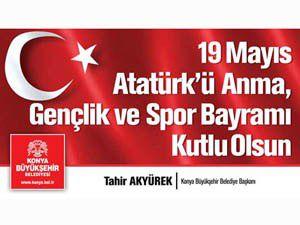 Başkan Akyürekin 19 Mayıs mesajı