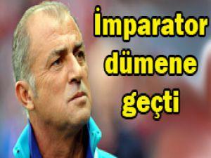 Yeni teknik direktör Fatih Terim