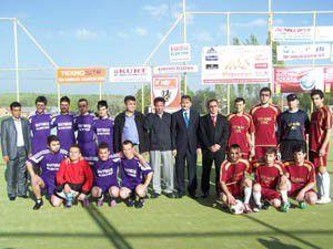 Futbol turnuvası dualarla başladı