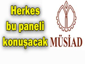 MÜSİADda dev panel