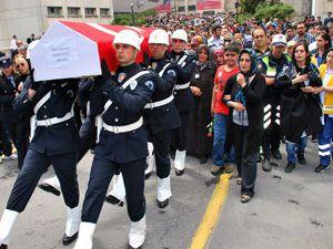 Şehidin cenazesi Konyaya gönderildi