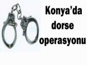 Konyada operasyon: 17 gözaltı!