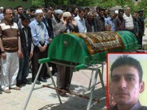 Nehirde boğulan kişinin cenazesi defnedildi