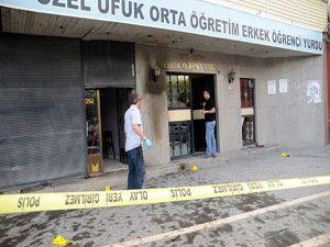 Öğrenci yurduna molotoflu saldırı