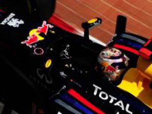 Vettel Monaco Grand Prixe damga vurdu