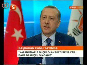 Erdoğan Ak Partinin oy oranını açıkladı