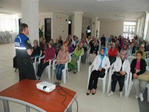 KARMEK kursiyerlerine güvenlik semineri