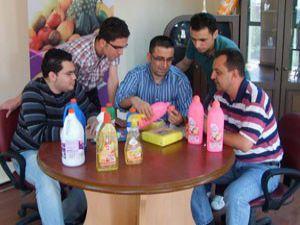 Konyalılar arap sabununu araplara satıyor
