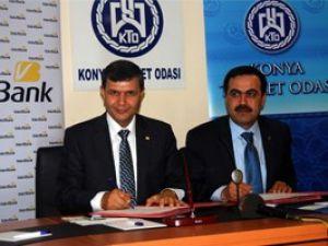 KTO ile Vakıfbank protokol imzaladı