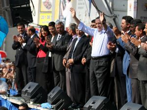 Başbakan Recep Tayyip Erdoğan Konyada