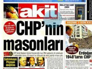 Yeni Akitin manşeti CHPyi yine kızdıracak!