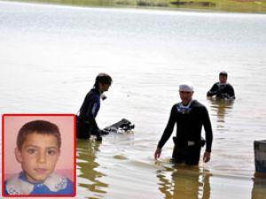 Gölette boğulan çocuğun cesedi bulundu