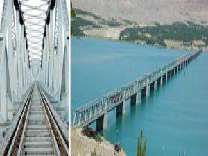 Türkiyenin ilk çift katlı köprüsü Malatyaya