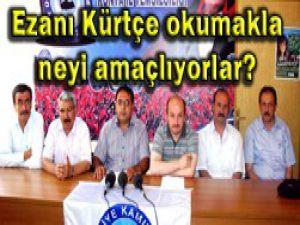 Konyadan Kürtçe ezan tepkisi
