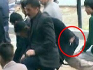 BDPnin Cuma Namazında şok görüntü