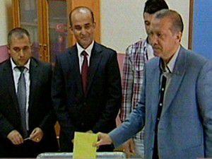 İlk sonuç Erdoğanın sandığından geldi