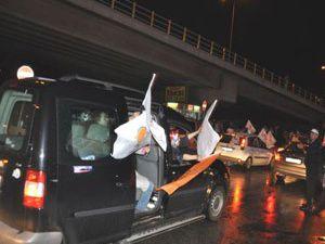 Konyada Ak Partinin zaferi kutlandı