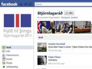 Anayasa taslağı Facebookta