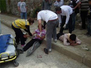 Akşehirde trafik kazası: 2 yaralı