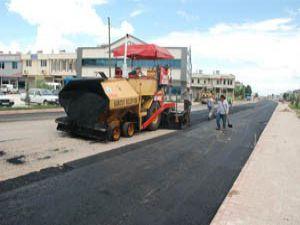 Kudüs Caddesi asfaltlanıyor