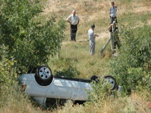 Konyada trafik kazası: 1 ölü 4 yaralı