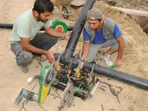 Seydişehirde içme suyu hattı projesi