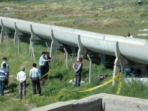 Derebucakta su kanaletleri yenilendi