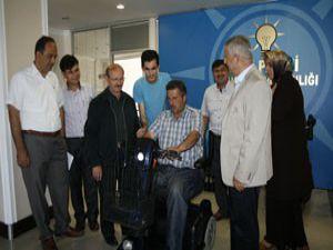 20 adet engelli aracı verildi