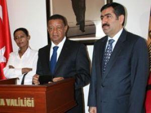 Etiyopya Ankara Büyükelçisi Konyada